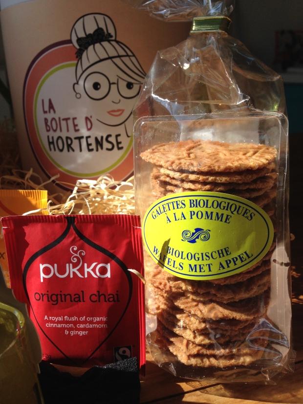 La Boîte d'Hortense - Thé Pukka et Galettes bio
