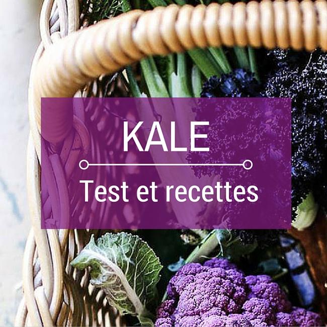chou kale test recette